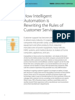 How Intelligent Automation is Rewriting the Rules of Customer Service