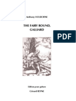 HOLBORNE, Anthony • The Fairy Round (edited by Gérard REYNE) (guitar music score) (+mp3)