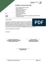 Informe Nº 019 Presentación y entrega de Rutina de Mantenimiento Recurrente y Rutinas.docx