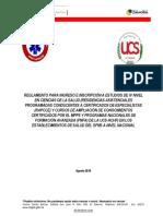 REGLAMENTO DE INGRESO A POSTGRADOS MPPS-UCS 2019