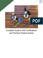 Premium Preparation Guide for SAP Certification