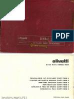 Olivetti Tekne3 ServManual