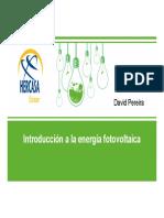 Introducción a La Energía Fotovoltaica