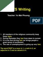 [Pre IELTS Writing] Lesson 1.pptx