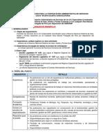 BASES ICA- SIIPG SERNANP - SEGUNDA CONVOCATORIA