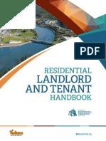 Yukon Residential LandlordTenant Act HANDBOOK