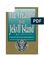 [Griffin, G Edward] the Creature From Jekyll Island (3rd Ed., 7th Printing, 1998)