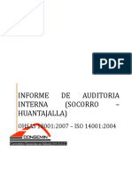 Informe de Auditoría Interna 2014- 1
