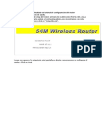 Guia de configuración Router Wireless NG-WR710