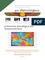 A Doutrina Astrológica dos Temperamentos