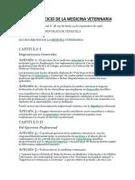 articulos que apoyan la medicina veterinaria en venezuela