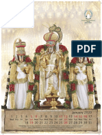 Tirumala Calendar 2020