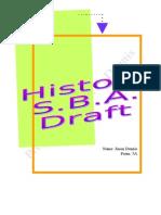 History SBA
