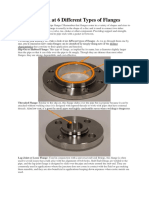 A Closer Look at 6 Different Types of Flanges