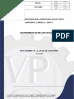 MANUAL DE FUNCIONES  2016-1