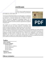 Corpus Aristotelicum – Wikipédia, A Enciclopédia Livre