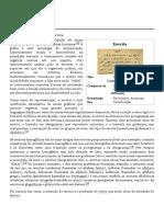 Escrita – Wikipédia, A Enciclopédia Livre
