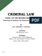 CRIMINAL LAW--Estrada DOCs