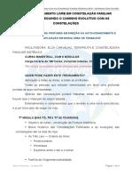 Conteúdo programático do treinamento Livre em Constelação Familiar Sistêmica com Elza Carvalho, 2019(1)