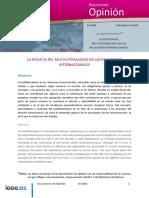 DIEEEO87-2014_EficaciaMultilateralismo_LuisCaamano