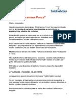 Programma Forza-TrainEvolution
