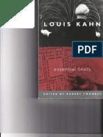 Louis Kahn - Essential Texts 1