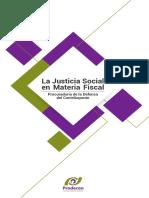 La justicia social en materia fiscal