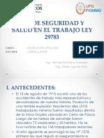 GRUPO N° 7 - LEY DE SEGURIDAD Y SALUD EN EL TRABAJO