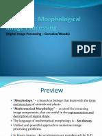Chap 9 - Morphological Image Processing