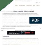 AWS Cheat Sheet - AWS Certified Developer Associate Exam Study Path - Tutorials Dojo