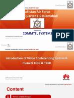 1.1 Introduction of VC & Huawei TE30 & TE60