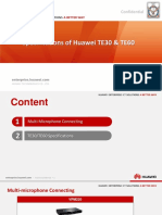 1.2 Specifications of Huawei TE30 & TE60