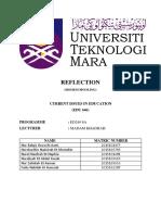 REFLECTION - HOME SCHOOLING (GROUP 1)-EDU 646