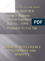BUSINEcSS INTELLIGENCE TECHNIQUES AND BENEFITS.pptx