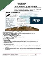 5. Cloud Seeding and Ocean Acidification