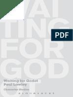 Paul Lawley - Waiting for Godot_ Character Studies-Bloomsbury Academic (2008).pdf