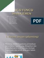 Fungsi-fungsi manajemen ADMINISTRASI