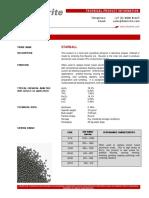 Blastrite Sintered bauxite - Sinterball - StarBall
