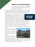 CASTILLO MEDIEVAL DE ALBURQUERQUE