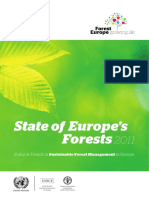 State of Europes Forests 2011 Report Revised November 2011