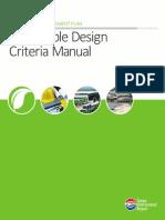 Sustainable Design Criteria Manual - Tampa International Airport