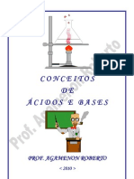 Conceitos de Ácidos e Bases - Prof° Agamenon Roberto