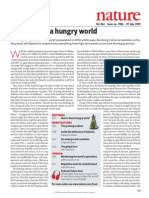 How to Feed a Hungry World-Nature 466