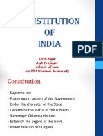 Constitution of India- OE