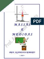 Cálculos de Massas e Medidas - Prof° Agamenon Roberto