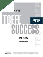 Petersons TOEFL