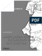 Metric Pattern Cutting for Childrens Wear 2009