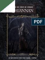 Libro de Linea de Sangre Lhiannan