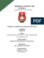ANÁLISIS DE LOS ARTÍCULOS 3 Y 4 DE LA RESOLUCIÓN No. 174-DIR-2013-ANT.