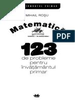 123 de probleme pentru invatamantul  primar (Mihail Rosu).pdf